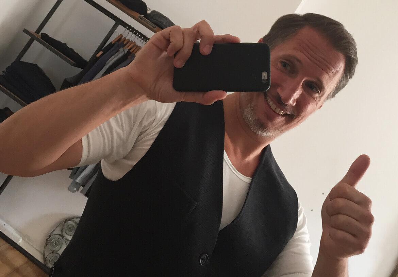 """Ein """"LIKE"""" von Schauspieler Benno Fürmann für die Westen von DORNSCHILD."""