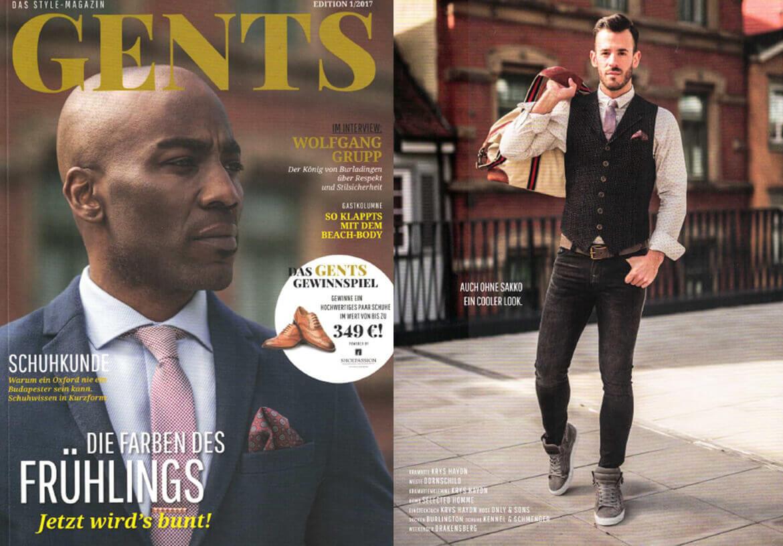 DORNSCHILD ist für das GENTS Magazin eine absolute Gentleman-Marke.